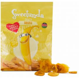 Sweetunda Dried Banana 10x100g - Bulkbox Wholesale
