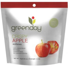 Greenday Crispy Apple 12x12g - Bulkbox Wholesale