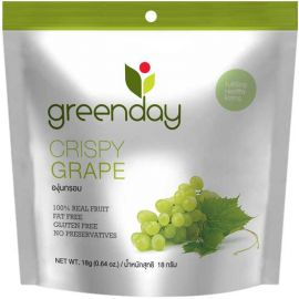 Greenday Crispy Grape 12x18g - Bulkbox Wholesale