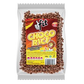 Tropical Heat Fit Choco Rice Cereal - Bulkbox Wholesale