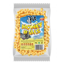 Tropical Heat Fit Honey Ball Cereal - Bulkbox Wholesale