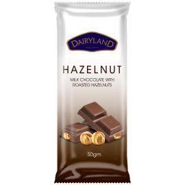 Dairyland Hazelnut Chocolate 12x90g - Bulkbox Wholesale
