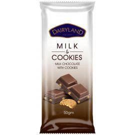 Dairyland Real Milk with Cookies Chocolate   - Bulkbox Wholesale