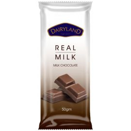 Dairyland Real Milk Chocolate 18x50g - Bulkbox Wholesale