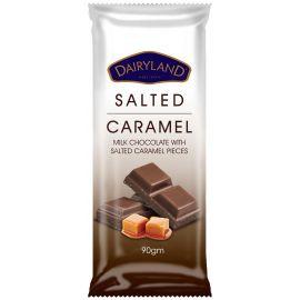 Dairyland Salted Caramel Chocolate 12x90g - Bulkbox Wholesale