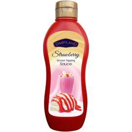 Dairyland Strawberry Topping Sauce 10x650g - Bulkbox Wholesale