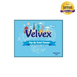 Velvex Junior Travel Tissue 50 Sheets - 60Pkts - Bulkbox Wholesale