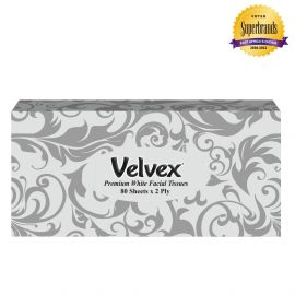 Velvex Premium Silver 80 Sheets - 48Pkts - Bulkbox Wholesale