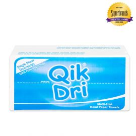 Qik Dri Hand Paper Towel Regular Sheets - 12Pkts - Bulkbox Wholesale