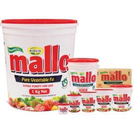 Mallo Cooking Fat 12x1Kg - Bulkbox Wholesale
