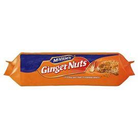 Mcvities Ginger Nut Biscuit 24x250g (Buy 16 Get 8 Free!) - Bulkbox Wholesale