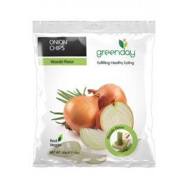 Greenday Onion Chips Wasabi Flavour 12x20g - Bulkbox Wholesale