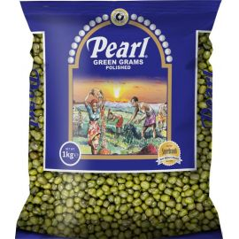 Pearl Polished Green Grams 12x1Kg - Bulkbox Wholesale