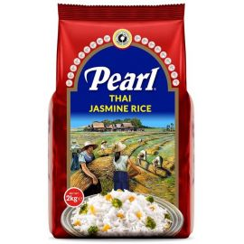 Pearl Thai Jasmine Rice 12x2Kg - Bulkbox Wholesale