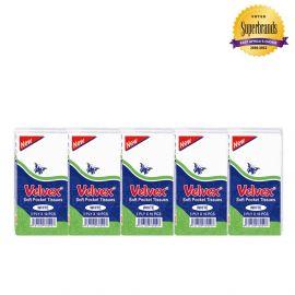 Velvex Scented White Pocket Tissue - 120Pkts - Bulkbox Wholesale