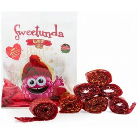 Sweetunda Raspberry Rolls 10x35g - Bulkbox Wholesale
