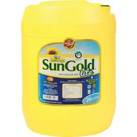 Sun Gold Sunflower Oil 1x18 Kg Jerrycan - Bulkbox Wholesale