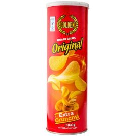 Golden Potato Crisps Original 24x160g - Bulkbox Wholesale