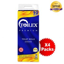 Toilex Premium 2-Ply Toilet Tissue - 10s'x4 - Bulkbox Wholesale