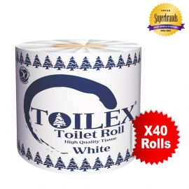 Toilex 2-Ply Toilet Tissue - 40s' - Bulkbox Wholesale
