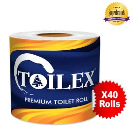 Toilex Premium 2-Ply Toilet Tissue - 40s' - Bulkbox Wholesale