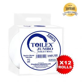 Toilex Jumbo Jumbo Jnr. 100M - 12's - Bulkbox Wholesale