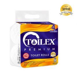 Toilex Premium 2-Ply Toilet Tissue - 4s'x12 - Bulkbox Wholesale
