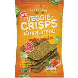 Greenday Veggie Crisp Sweet & Spicy Flavour 12x14g - Bulkbox Wholesale