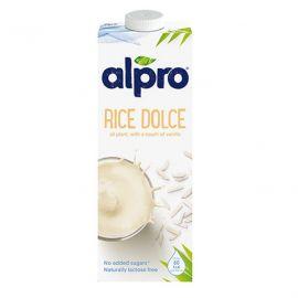 Alpro Rice Dolce Vanilla Drink 8x1L - Bulkbox Wholesale