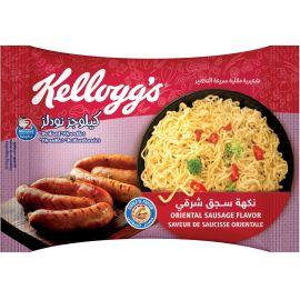 Kellogg's Instant Noodles - Oriental Sausage - Bulkbox Wholesale