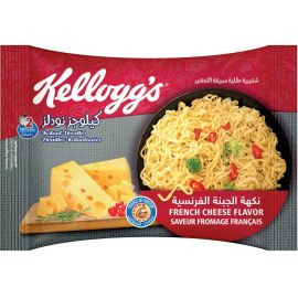 Kellogg's Instant Noodles -  French Cheese - Bulkbox Wholesale