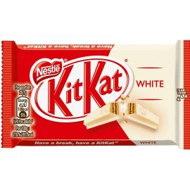Nestle Kitkat 4 Finger White 12x41.5g - Bulkbox Wholesale