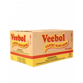 Veebol Pastry Margarine White 1x10Kg - Bulkbox Wholesale