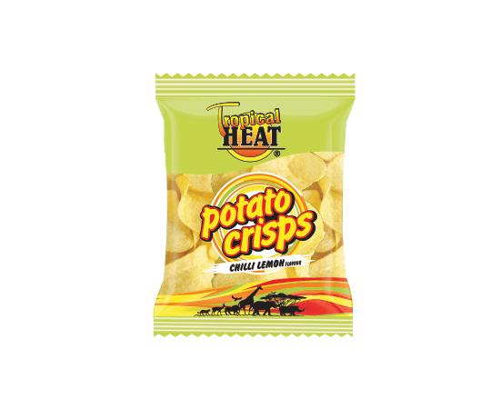Tropical Heat Potato Crisps - Chilli Lemon - Bulkbox Wholesale