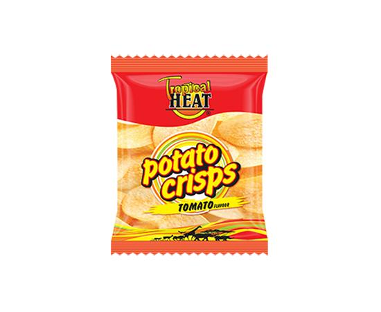 Tropical Heat Potato Crisps - Tomato - Bulkbox Wholesale