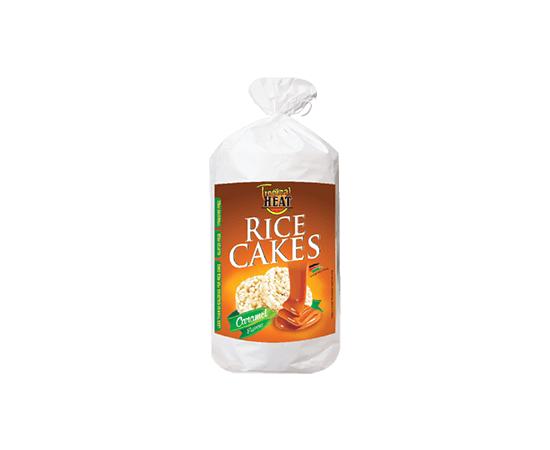 Tropical Heat Rice Cakes - Caramel Flavor - Bulkbox Wholesale