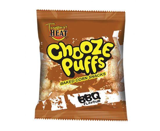 Tropical Heat Chooze Puffs - BBQ - Bulkbox Wholesale