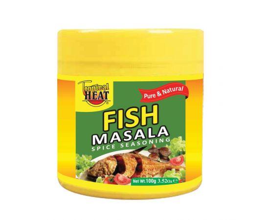 Tropical Heat Fish Masala 6 x 100g - Bulkbox Wholesale