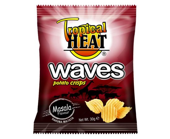 Tropical Heat Waves Crisps - Masala - Bulkbox Wholesale