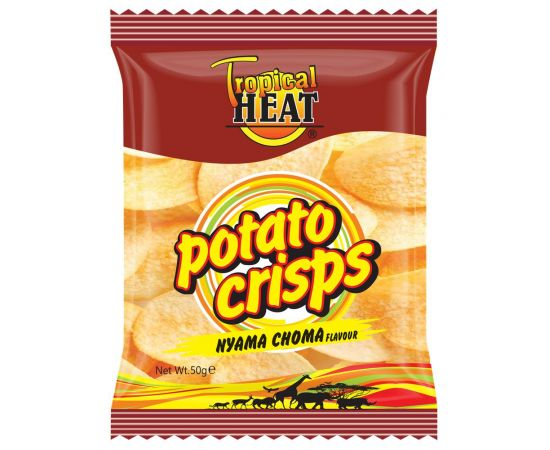 Tropical Heat Potato Crisps - Nyama Choma - Bulkbox Wholesale