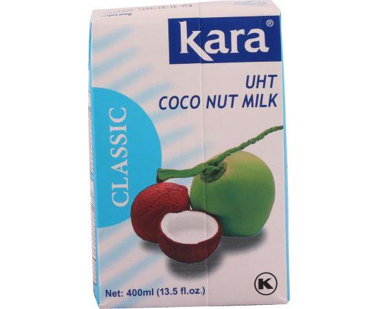 Kara Coconut Uht Milk 17%  24x200ml - Bulkbox Wholesale
