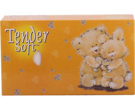 Tender Soft Facial Tissue Box- Bear   48x70s - Bulkbox Wholesale