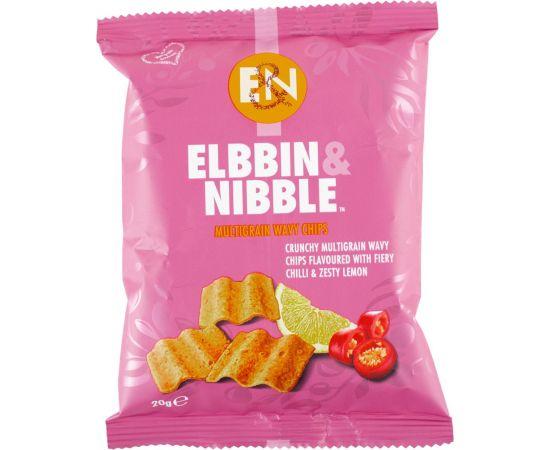 Elbbin & Nibble Multigrain Chilli Lemon Chips - Bulkbox Wholesale
