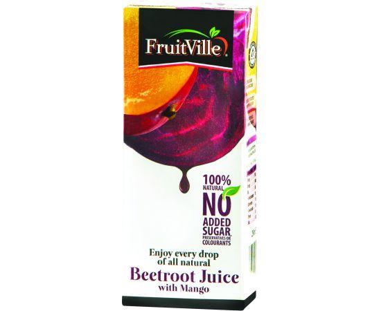 Fruitville Beetroot Mango Juice Tetra - Bulkbox Wholesale