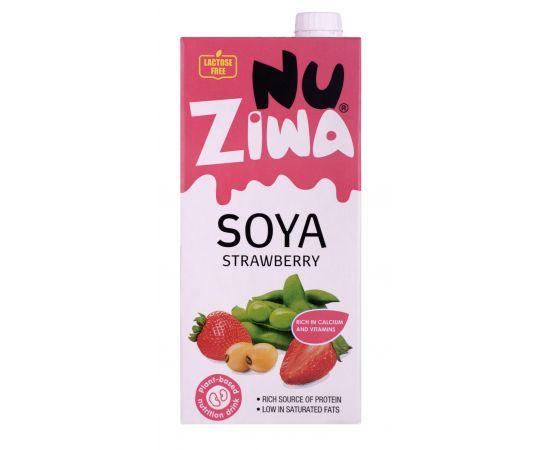 Nuziwa  Soya Strawberry Milk - Bulkbox Wholesale