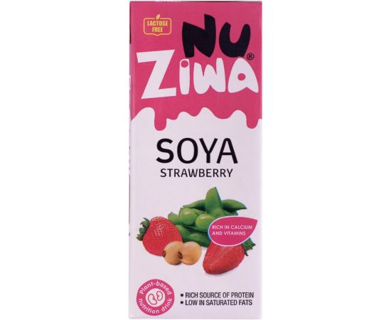 Nuziwa  Soya Strawberry Milk - Bulkbox Wholesale