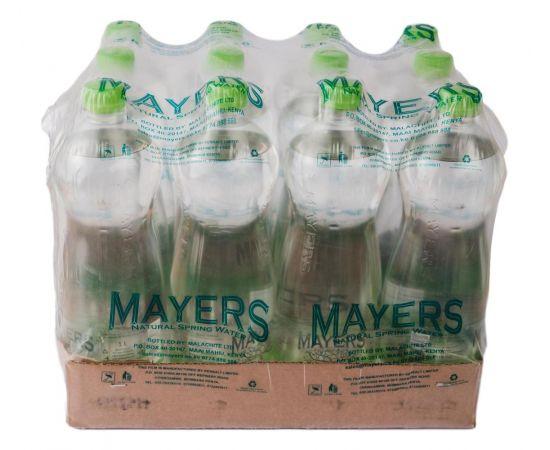 Mayers Water Sparkling Plastic 12x1L - Bulkbox Wholesale