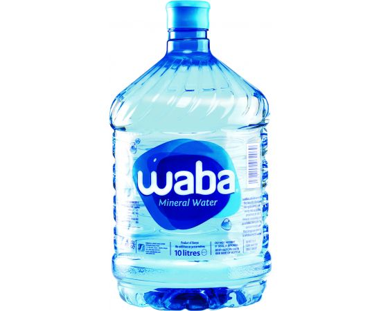 Waba Mineral Water 1x10L - Bulkbox Wholesale