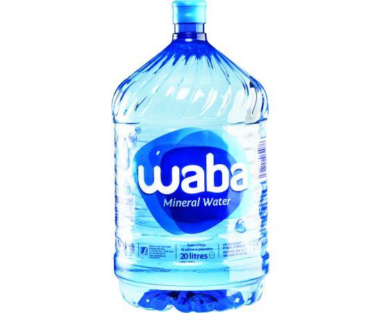 Waba Mineral Water  - Refill 1x20L - Bulkbox Wholesale