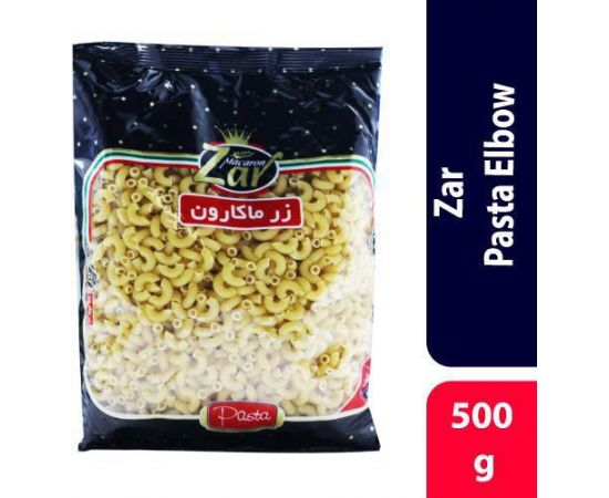 Zar Elbow Pasta 20x500g - Bulkbox Wholesale